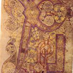 initiaal Book of Kells